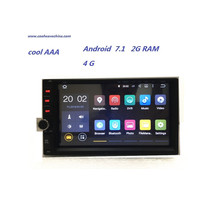 universal car radio Android 7.1.1 car radio car dvd Automotivo RDS Radio GPS Navi Audio Stereo Auto Pc Central multimidia(China)