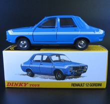 1:43 Atlas DINKY TOYS 1424G RENAULT 12 GORDINI Cars Models Vehicles Can Open the door Diecast Collection Gifts