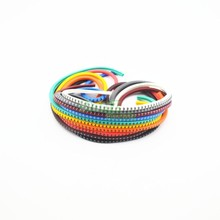 All sorts of color number tube EC-2 4mm Cable Wire Markers Letter 0 to 9 X 500 (Each 50pcs )
