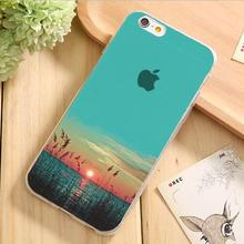 Painting Pretty Landscape Pretty Marie Silicon Phone Cases For Apple iPhone 4 iPhone 4S Case For iPhone4S Cover Shell 2017