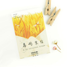 "28pcs/box ""Letter of islands"" beautiful scenery creative lomo card greeting/message card postcard holiday universal(China)"