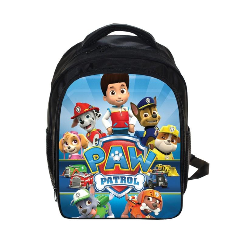 Cartoon Puppy Patrol Backpack Boys Girls School Bags Children Mochila Infantil Kindergarten Backpacks Kids Bag Patrulla Canina<br><br>Aliexpress