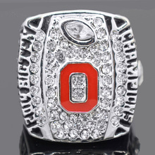2014 2015 Ohio State Buckeyes National College Football Championship Ring 11 12 Size High Quality Fan Ring(China)