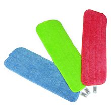 Reveal Mop Cleaning Pad Fit All Spray Mops & Reveal Mops Washable,red/green/blue(China)