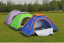 brand quality Waterproof UV Outdoor Hiking Tents 1~2 person Camping Tent Pack with Carrying Bag for Outdoor Camping