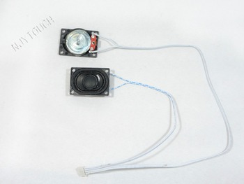 Hot Sell Plastic Computer 8ohm 2W 4Pin Speakers Audio for LCD Controller Boards Plug&Play Free Shipping