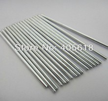 10pcs stainless steel bars 2MM DIA length 300mm  DIY Toys car axle coupling connecting shaft