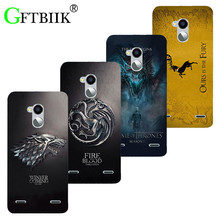 Cute Cartoon Case For ZTE Blade V7 Lite / Blade V6 Plus A2 Soft Silicone Case Fashion Printed Football Cover Game of Thrones 7