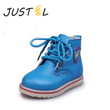 2017 Autumn autumn new Korean children Martin boots shoes Boys Girls fashion shoes baby boots non-slip flat heels boots for kids