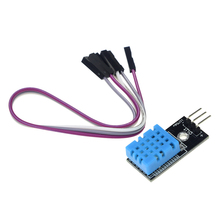 Smart Electronics DHT11 Digital Temperature And Relative Humidity Sensor Module With Board And Cable for arduino DIY Starter Kit