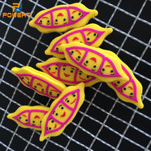 PowerTi 30PCS/LOT Pea Doll Tennis Racket Vibration Dampers Sport Outside Tennis Dampener Reduce Shock Tennis Racquet Accessories(China)