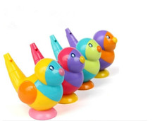 1pc whistle baby bath collection bath toy bird water whistles baby gift(China)