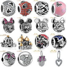 YANXIZAO hot 925  silver European cubic Charm Beads Fit Pandora Style Bracelet Pendant Necklace DIY Jewelry Originals