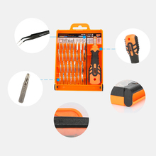 JAKEMY Multifunction Screwdriver Cell Phone Repair Tools Kit for iPhone Ipad PC Electronic products Model Repair Tool Kit Set(China)