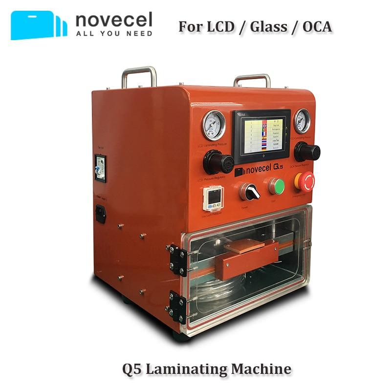 "Novecel Q5 Laminating Machine Portable OCA Vacuum Laminator For Less Than 11"" Flat Screen , Curved Screen , Tablets"
