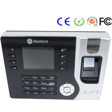 High Quality USB TCP/IP Employee Fingerprint Time Attendance Office Rfid Time Recorder Realand A-C071