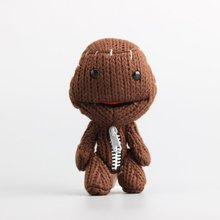 "Cute Little Big Planet Plush Toy Sackboy Cuddly Knitted Stuffed Doll Figure Toys 6"" 15 CM Children Gift(China)"
