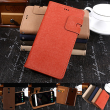 "Flip capa For Vernee thor cover 5"" Leather & High-end PC Stand caso For Vernee thor case phones protective coque funda pouch bag"