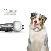 Pet GPS Tracker MK2 Pet Locator for dog cat Necklace GPS GSM Wifi Positioning IP66 Waterproof Wifi+GPS+LBS Location free app(China)