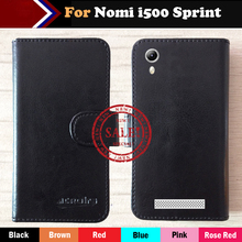 Hot!! Nomi i500 Sprint Case Factory Price 6 Colors Dedicated Leather Exclusive For Nomi i500 Sprint Phone Cover+Tracking(China)