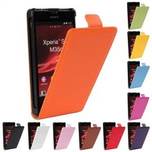For Sony Xperia SP Case Cover Flip Leather Vertical Shell Pouch Mobile Phone Bag Coque Funda Etui For Xperia SP Capinhas Capa