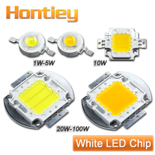 High Power LED Chip 1W 3W 5W 10W 20W 30W 50W 100W Watt Warm Pure Cool White Light Bulb Matrix Lamp SMD COB 3000K-6000K-15000K