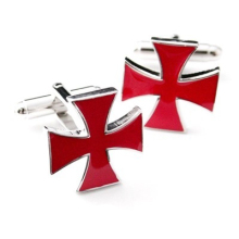 WN hot sales/Red Cross cufflinks in France high quality shirts cufflinks wholesale/retail/friends gifts(China)