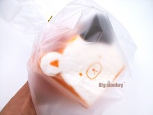 Big monkey New hot sell 1pcs kawaii rare squishy jumbo for sale rilakkuma squishy toast slow rising squeeze toy(China)