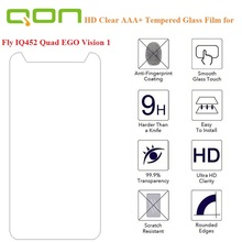 Fly IQ452 protective glass film, tempered glass film For Fly IQ452 Quad EGO Vision 1 screen protector guard film front case
