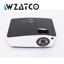 WZATCO Short throw Daylight Portable Education Overhead DLP Projector 6000lumens HDMI Full HD 1080p Shuter 3D Video projectors(China)