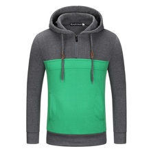 Envmenst 2017 winter spring warm sweatshirts men brand clothing solid thick fleece hoodie male top quality causal fashion