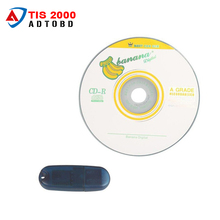 2017 Lowest Price TIS2000 CD and USB KEY for GM TECH2 for GM Car Model for GM TIS2000 TIS 2000 Software USB dongle free shipping