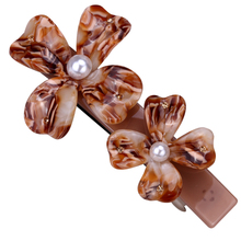 Flower hair barrette clip for women girls austrian crystal jewelry wedding accessories HB13 wholesale dropship(China)