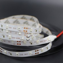 RGB 300 LED strip light 5m 60LEDs/m SMD 2835 White Warm White Red Green Blue LED strip 12V Waterproof flexible Tape rope stripe(China)