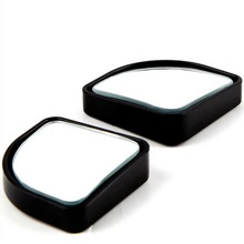 2pcs Universal 3R-015 Adjustable Car Blind Spot Mirrors Stick- On Rear View and Rear Glass Mirrors Car Styling Decoration
