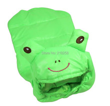 Retail Green Fashion Design Frog Pet Dogs Coat  Free Ship  new clothing for dog