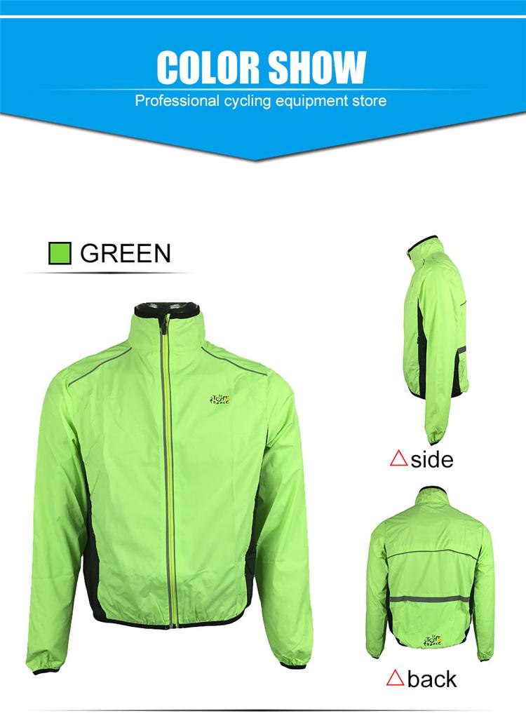 4 BESTGIA Hot Selling Ultra-light Tour De France Bicycle Jacket Bike Windproof Raincoat Road Track MTB Aero Cycling Wind Coat Men Clothing