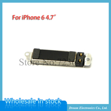 10pcs/lot High quality vibrator vibration silent module for iPhone 6 6G 4.7'' Motor replacement part flex cable free shipping