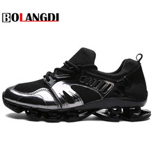 Bolangdi Running Shoes Men 2017 Outdoor Breathable Male Mesh Light Shoes Jogging Sneakers Athletics Women Lovers Sport Shoes