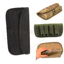 Hunting Tactical Airsoft Gun Pistol Accessories MOLLE Round 12 Gauge Shells Shotgun Mag Magazine Pouch bag Dump Drop Mag Bag