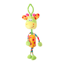 Hot! Funny Design Lovely Baby Plush Doll Hanging Bells Baby Toys Child Kid Durable Wind Chime Toys Best Birthday Gifts New Sale