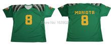 100%Polyester Custom Made Dark Green And Yellow American Football Tops For Men
