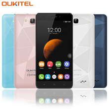 Original Oukitel C3 Smart Phone 5.0 Inch Unlocked 3G WCDMA Cellphones Android 6.0 Quad Core 1GB RAM 8GB ROM IPS HD Mobile Phone