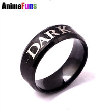 New Arrival Game Ring Dark Souls 3 Rings Darksoul III Stainless Steel Finger Ring 2 Sizes Choosed Dropshipping(China)