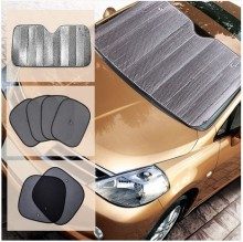 Car sunshade file Car sun-shading  6 set   after summer sunscreen car sunshade blinds  automobiles Car sun visor,Automobile sun