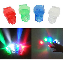 Durable Strap On LED Finger Light - Set of 20 Night Party Funny Accessories