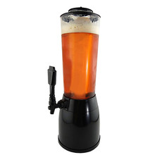 2.5L Beer Dispenser Machine Ice Tube for Beverage Wine Alcohol Juice Soft Drinks Party Supplies Plastic PP ABS Bar Cooler Tools