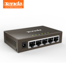 Tenda TEG1005D 5 Port 1000M Gigabit Ethernet Switch,10/100/1000Mpbs Ethernet Network Switches,Hub LAN,Full-duplex,Auto MDI/MDIX(China)