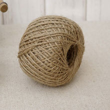 1 Roll 30M Natural Brown Jute Hemp Rope Twine String Cord Shank Craft Making DIY