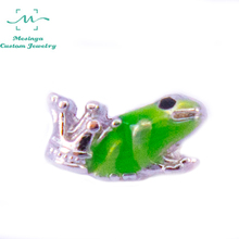 10pcs  Frog Prince floating charms for glass locket FC--,Min amount $15 per order mixed items